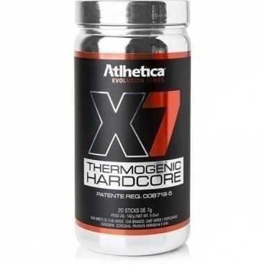 X7 Thermogenic Hardcore 20 sticks - Atlhetica Nutrition