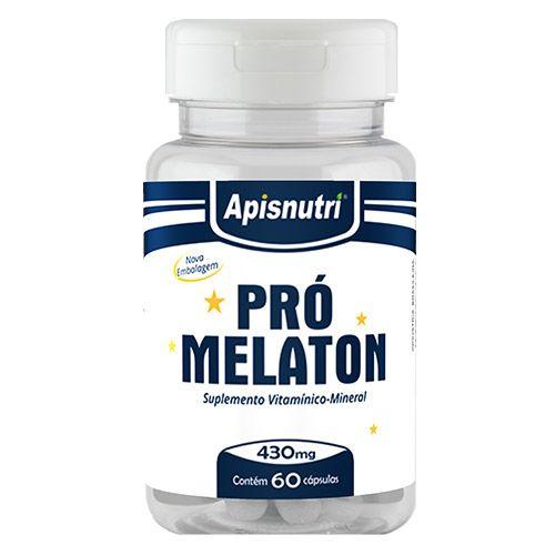 Pró Melaton 430mg 60 Cápsulas - Apisnutri