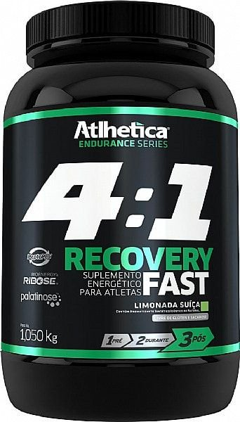 Recovery Fast 4:1 1,050kg - Atlhetica Nutrition