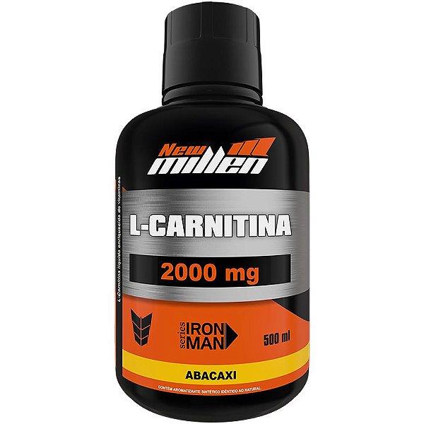 L- Carnitina 2000mg 500ml - New Millen