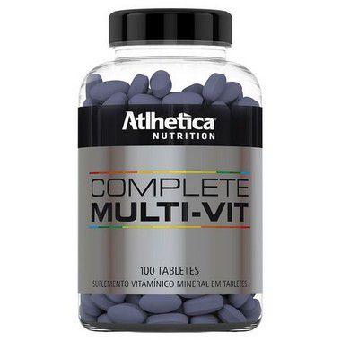 Complete Multi Vit 100 Tabletes - Atlhetica Nutrition