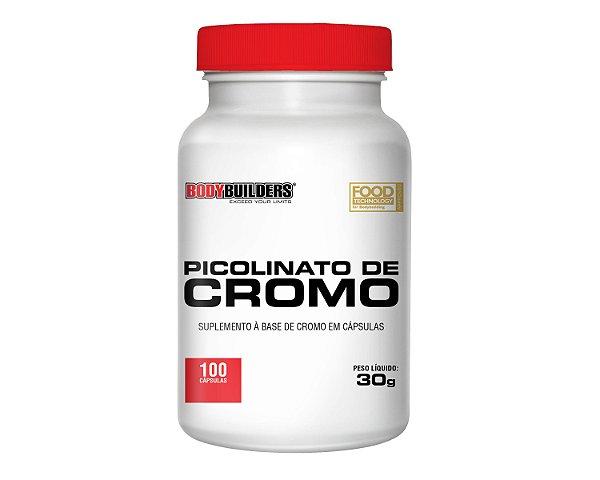 Picolinato de Cromo 100 Cápsulas - BodyBuilders