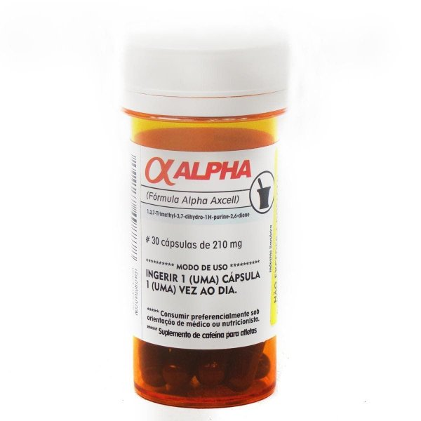 Alpha Axcell 30 Cápsulas - Power Supplements