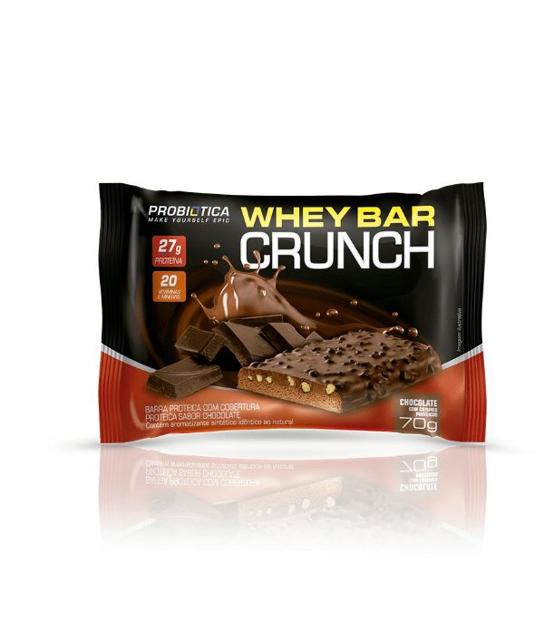 Whey Bar Crunch Monster 70g - Probiótica