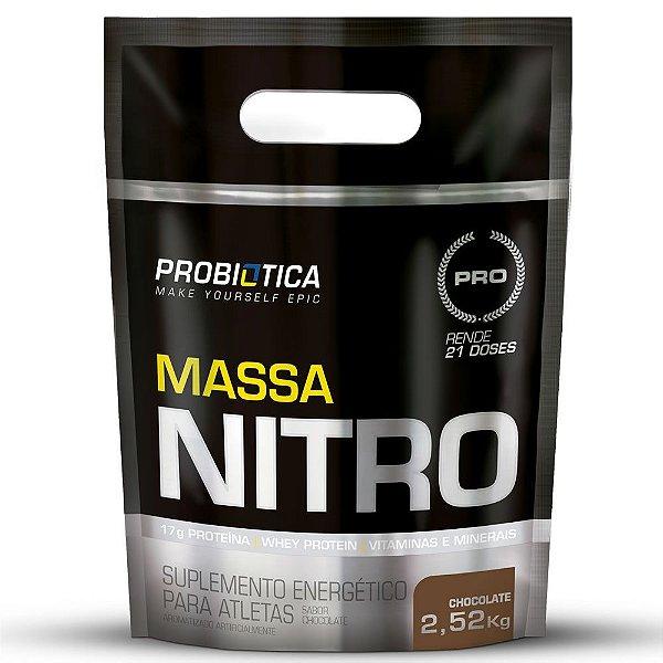 Hipercalórico Massa Nitro Refil 2,520kg - Probiótica