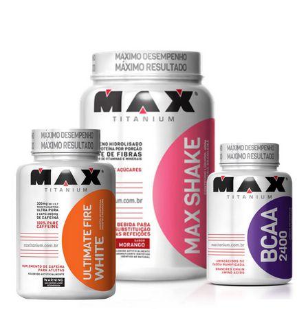 Kit Max Shake 400g - Max Titanium