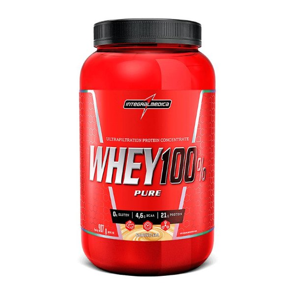 Super Whey 100% 907g - IntegralMédica