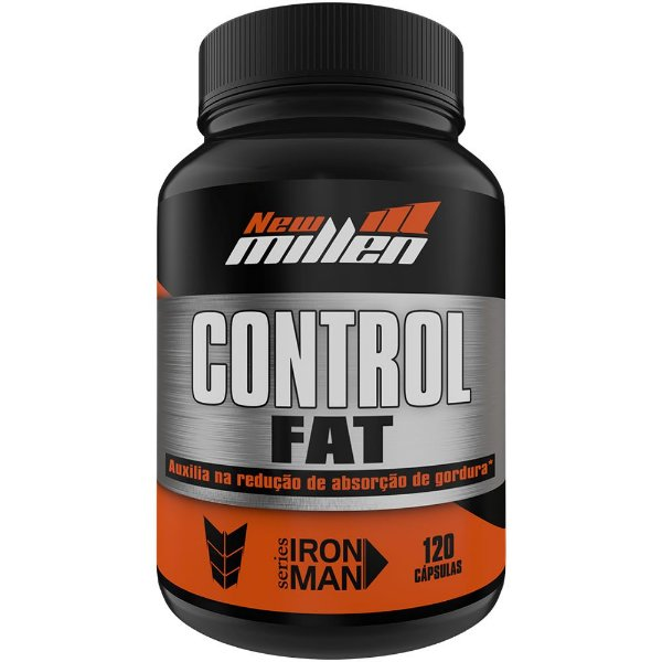 Control Fat 120 cápsulas - New Millen