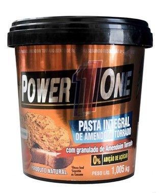 Pasta de Amendoim Crocante 1,05kg - Power1One