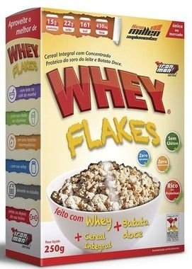 Cereal Proteico Whey Flakes 250g - New Millen