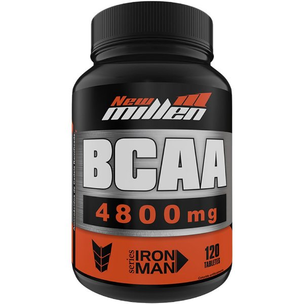 BCAA 4.800mg 120 Tabletes - New Millen