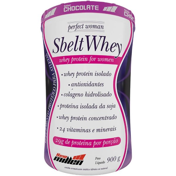 Sbelt Whey Perfect Woman 900g - New Millen