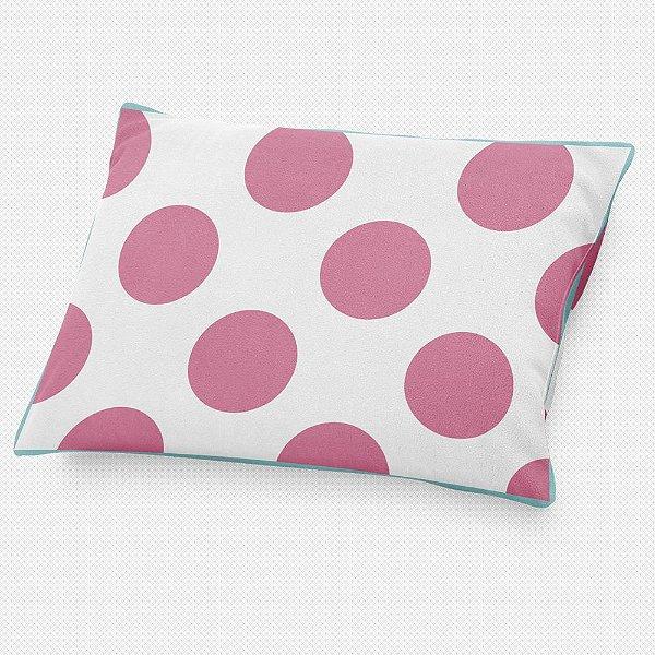 DUPLICADO - Almofada de cabeceira Bolas Rosa Chiclete