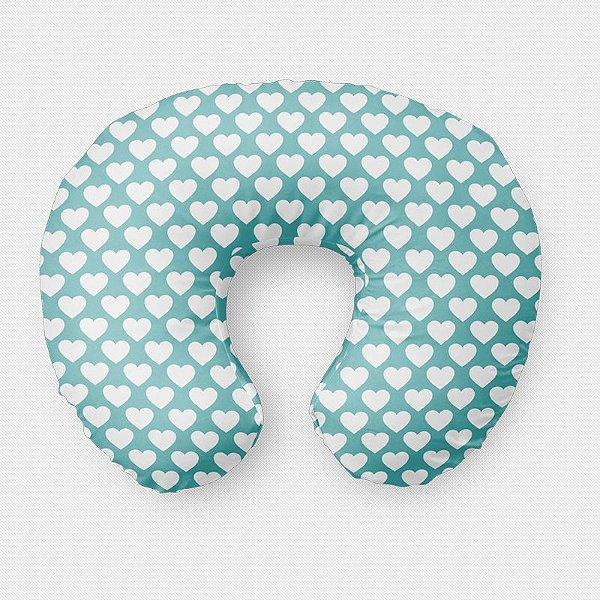 Almofada de amamentação Corações Tiffany