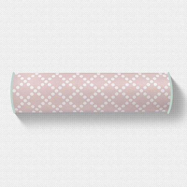 Rolo peseira Pearl Rosa quartzo