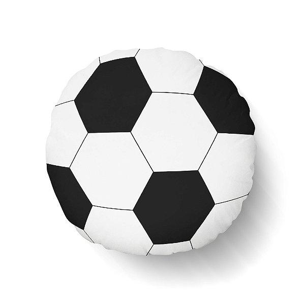 Almofada bola de Futebol redonda