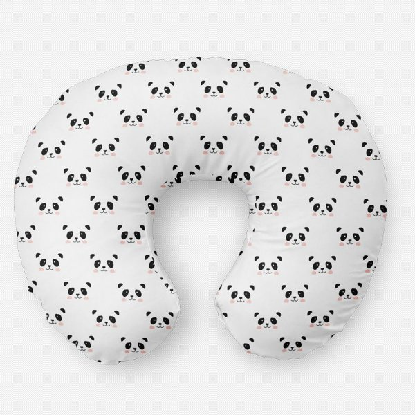 Almofada de amamentação Panda