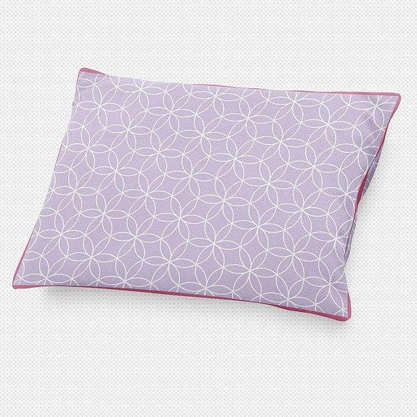 Almofada de cabeceira Lotus Lilás