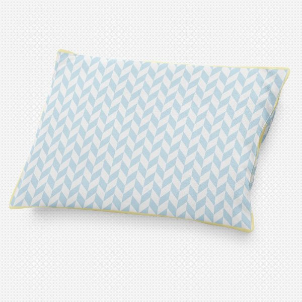 Almofada de cabeceira Flag Azul Bebê