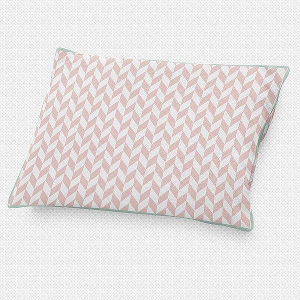 Almofada de cabeceira Flag Rosa Quartzo