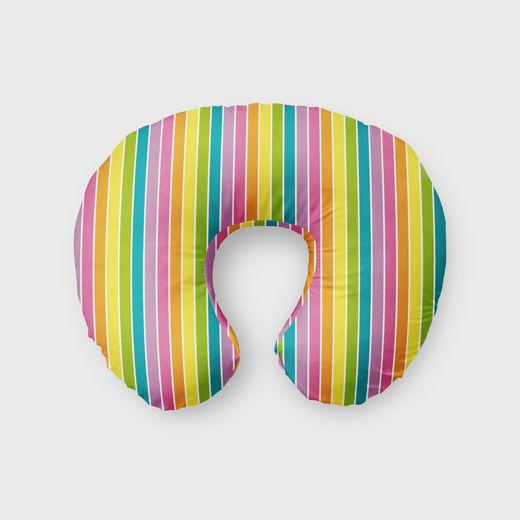Almofada de amamentação Rainbow Listras