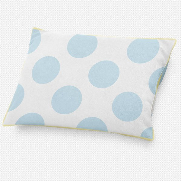 Almofada de cabeceira Bolas Azul Bebê