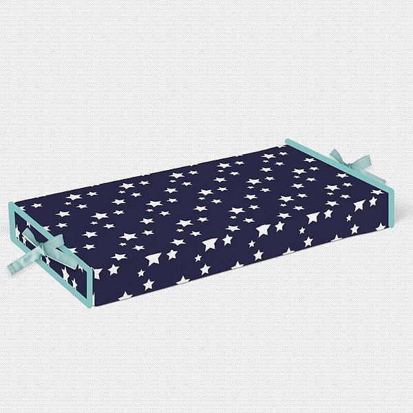 Trocador Azul Marinho com Estrelas