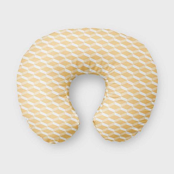 Almofada de amamentação 3D Amarelo Bebê