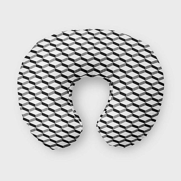 Almofada de amamentação 3D 2 Branco