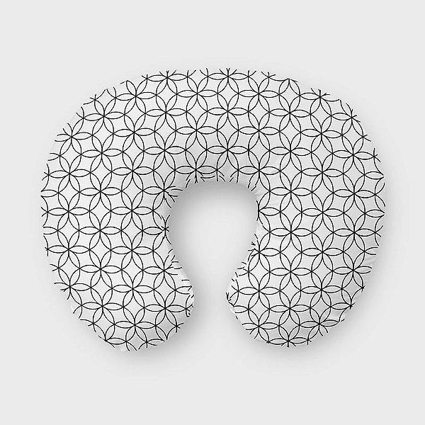 Almofada de amamentação Lotus Branco