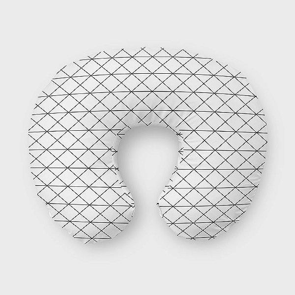 Almofada de amamentação Prisma Branco
