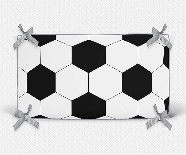Cabeceira em espuma bola de Futebol branca