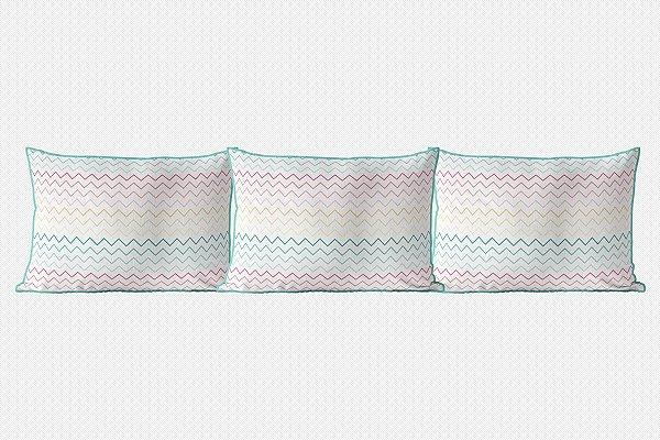 Kit almofadões para cama Candy Thin