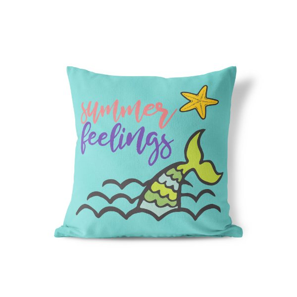 Capa de almofada Summer Feelings 40x40 ~ OUTLET