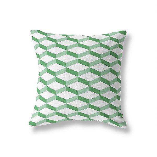 Capa de almofada 3D 2 Verde