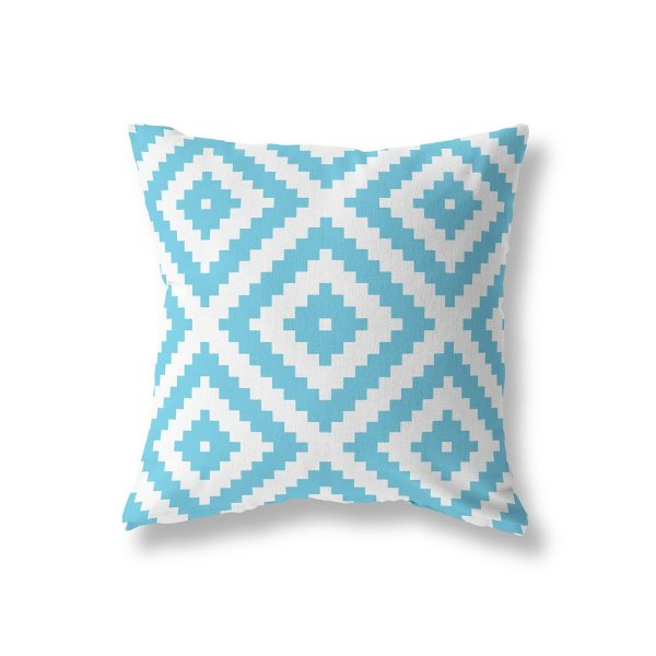 Capa de almofada Aztec Azul Turquesa