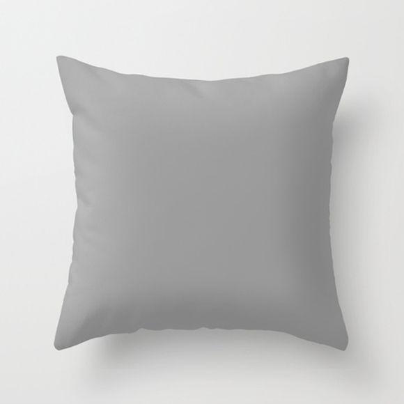 Capa de almofada Lisa Cinza