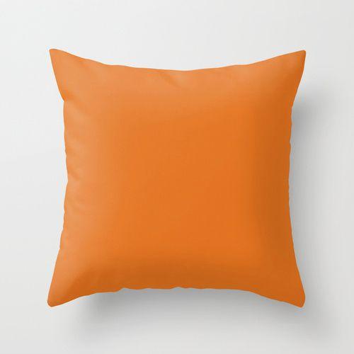 Capa de almofada Lisa Laranja