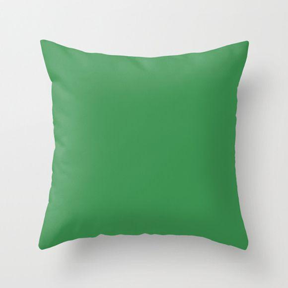 Capa de almofada Lisa Verde