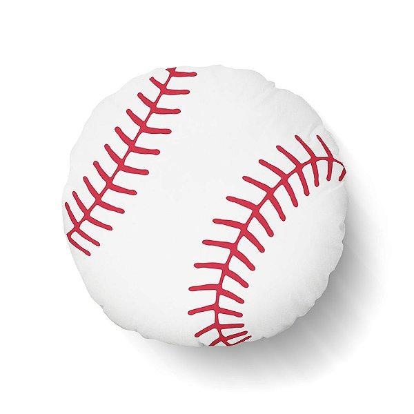 Almofada Toy Bola de Baseball redonda