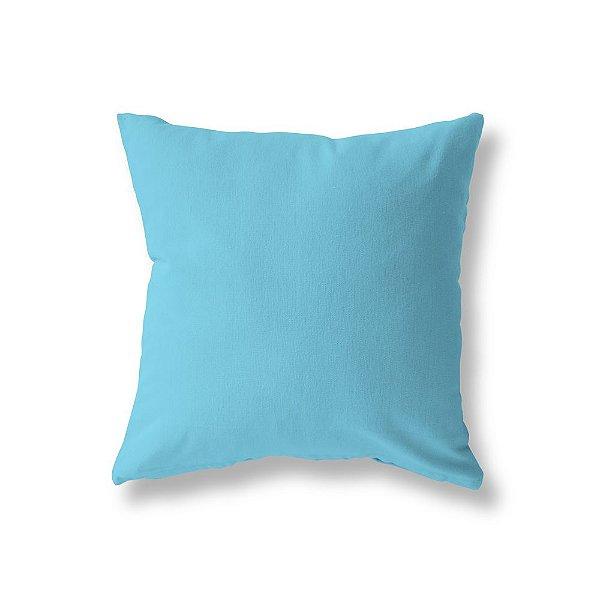 Capa de almofada Azul Turquesa