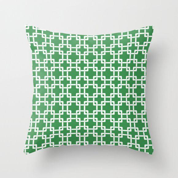 Capa de almofada Plummer Verde