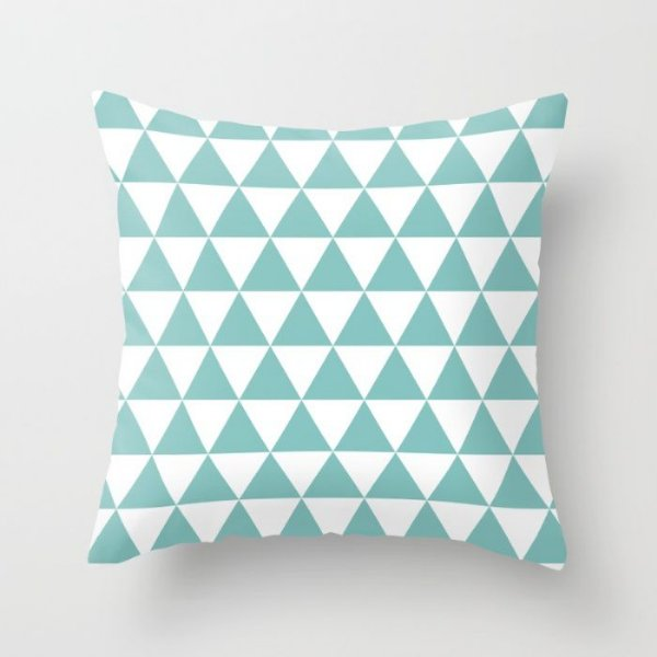 Capa de almofada Triângulos Tiffany