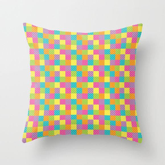 Capa de almofada Rainbow Colors