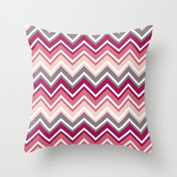 Capa de almofada Zigzag Pink