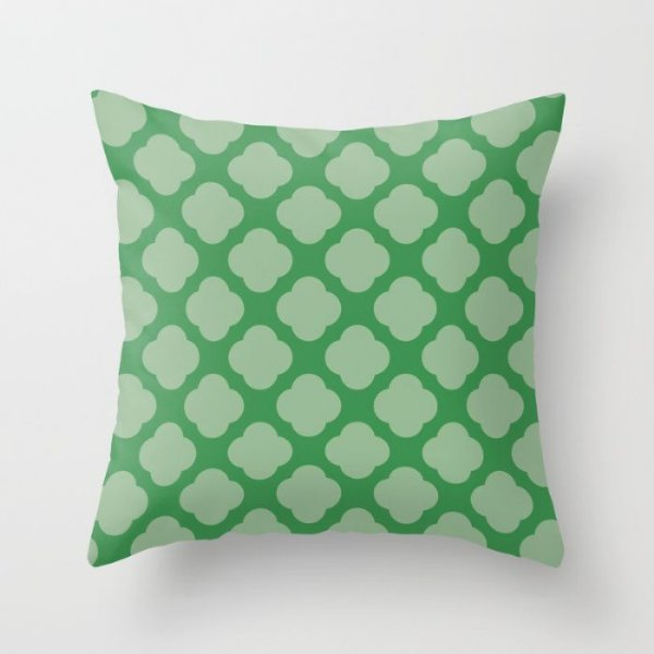Capa de almofada Cute 2 Verde