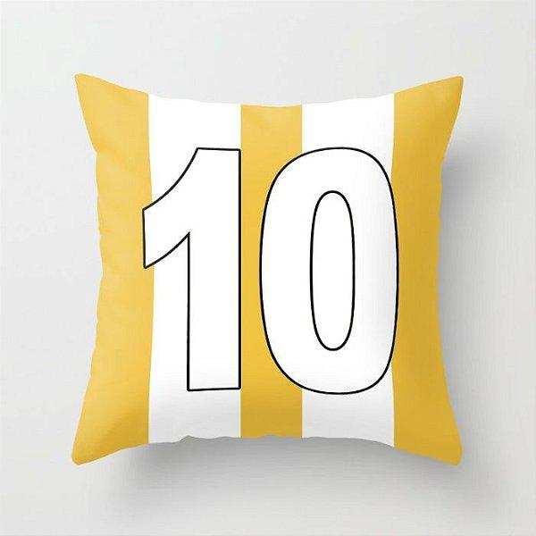 Capa de almofada Camisa 10 Amarela