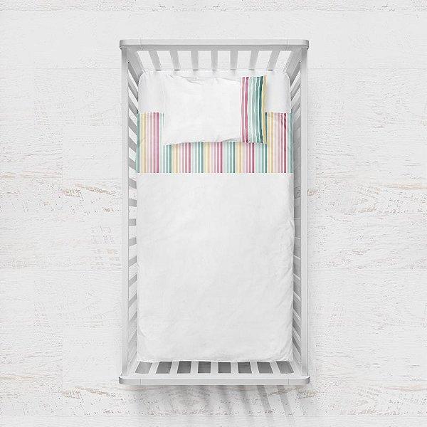 Jogo de lençol Candy Listras