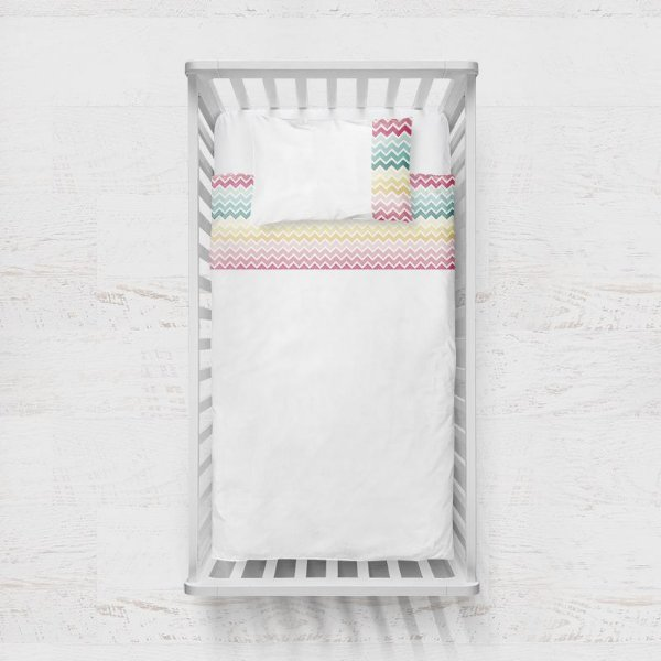 Jogo de lençol Candy Chevron