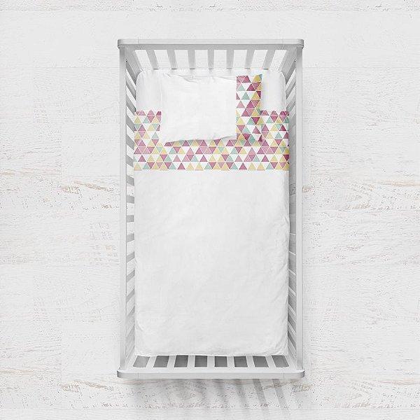 Jogo de lençol Tri Candy